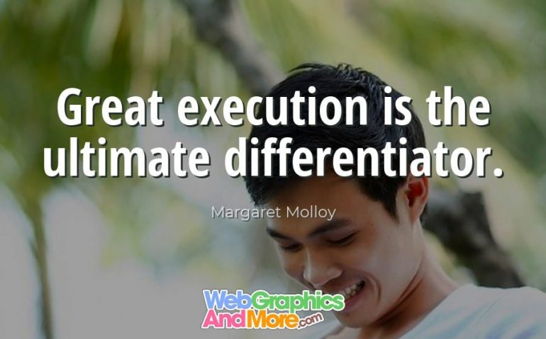 great-execution-differentiator
